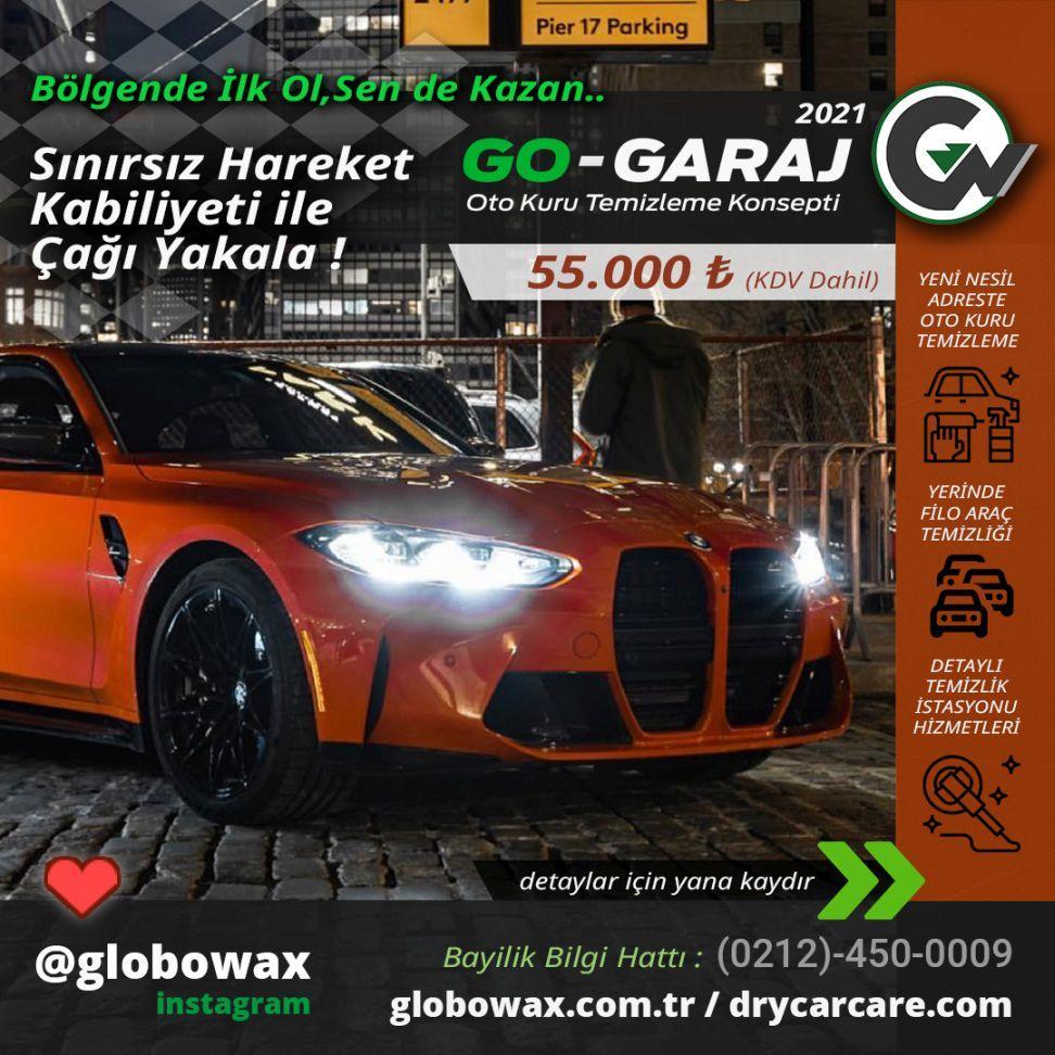 globowax dry car care , drycarcare , 2021 oto yıkama bayiliği paketi